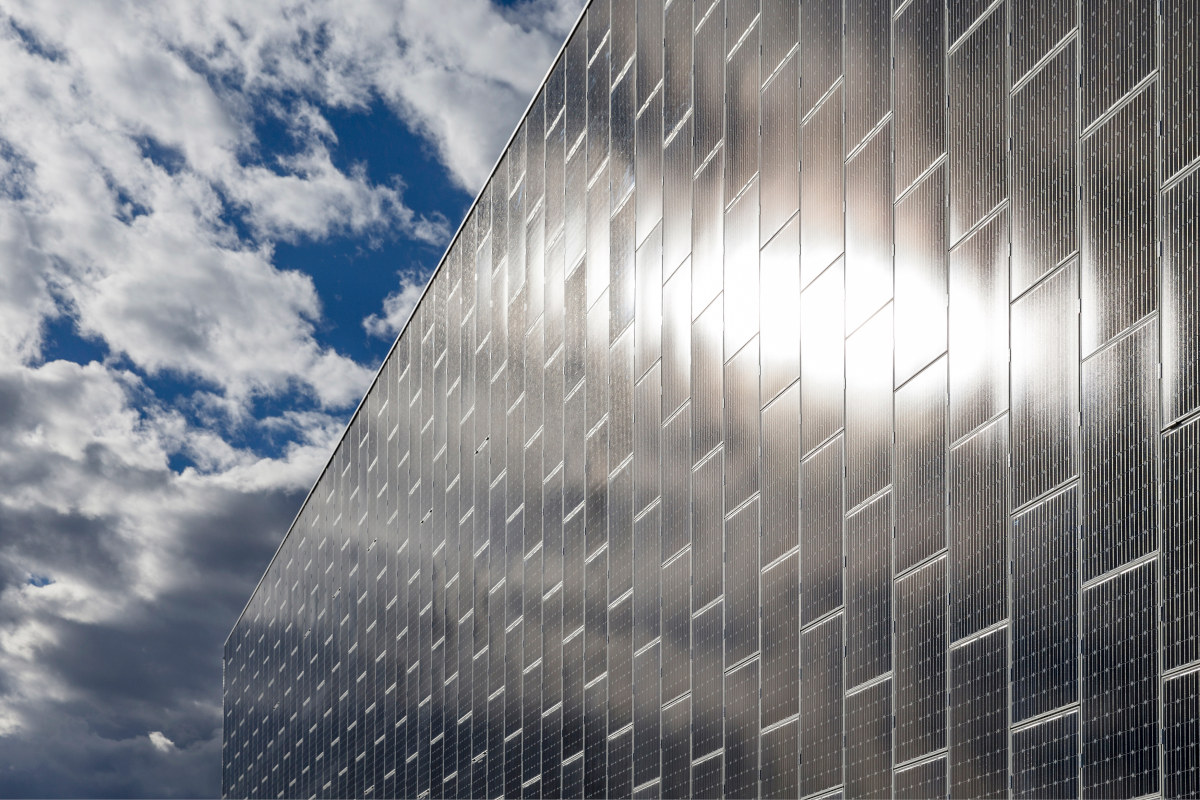 Green Datacenter Solar Panels